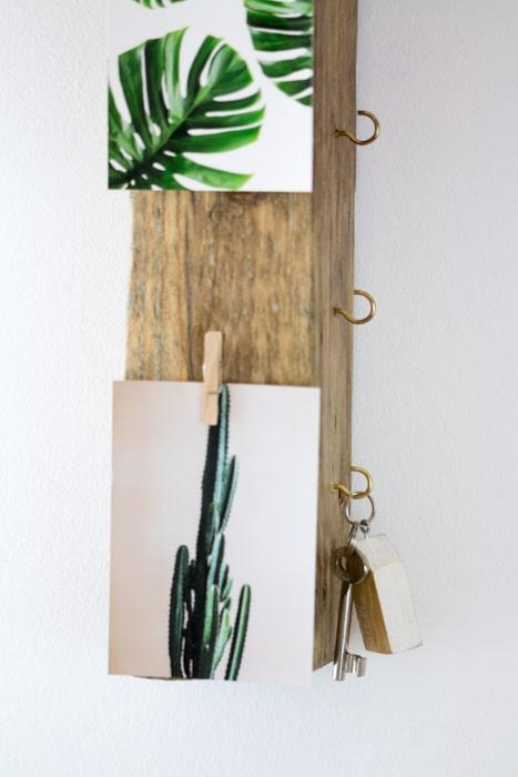DIY Schlüsselbrett aus Treibholz #selbermachen #treibholz #diy #schlüsselboard #schlüsselbrett #schlüsselhalter #deko
