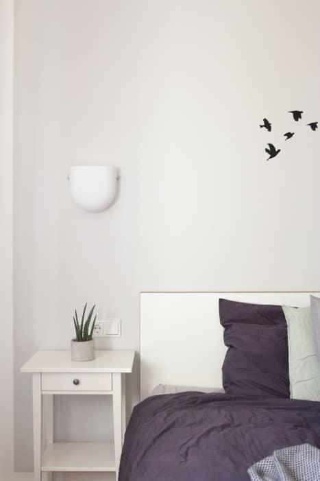 Schlafzimmer einrichten #Tipps #Ruhe #gemütlich #Textilien