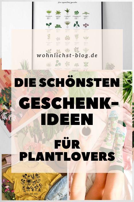 Geschenkideen für Plantlovers Pflanzenliebhaber und Interior-Fans #weihnachten #geschenke #plantlover #pflanzen