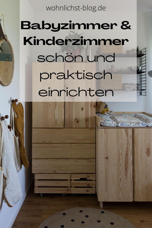 Kinderzimmer Babyzimmer Deko einrichten Ideen